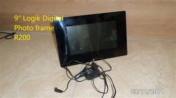 Logik digital photo frame for sale