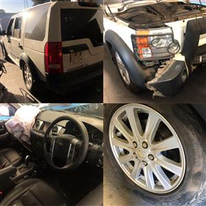 LANDROVER DISCOVERY 3 STRIPPING FOR SPARES