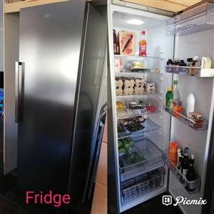 Silver fridge for sale