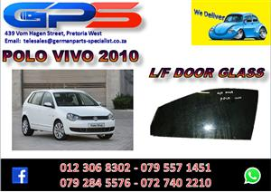 Used VW Polo Vivo 2010 L/F Door Glass for Sale