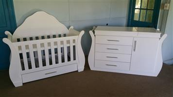 Baby Cot With Headboard and Compactum-R 6499,00 Sur 22