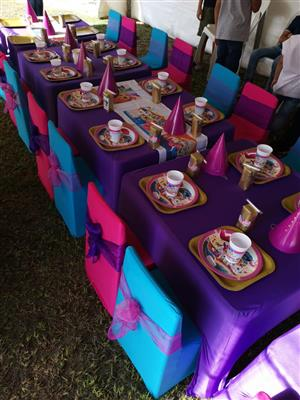 Kiddies DIY Party Packages for Hire
