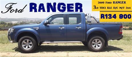 2009 Ford Ranger 3.0TDCi double cab Hi trail XLE