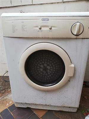 Old defy tumble dryer