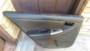 Door Panel Rear Left for electric window, Toyota Runx