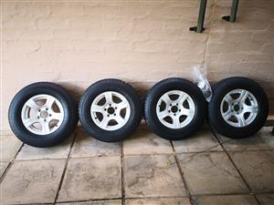 Jurgens exclusive mags and tyres for sale