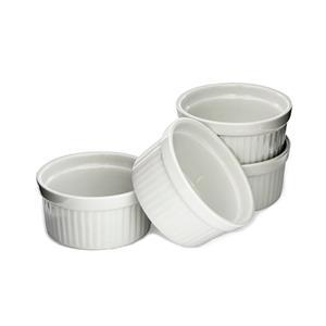 Just White Set of 4 Ramekins