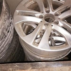 2012 Mercedes Benz W204 mag rims