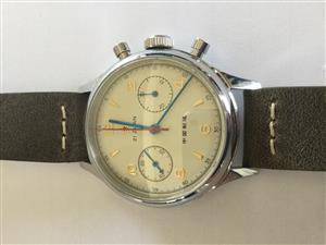 Seagull 1963 chronograph wristwatch