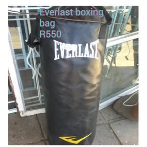 Everlast boxing bag for sale