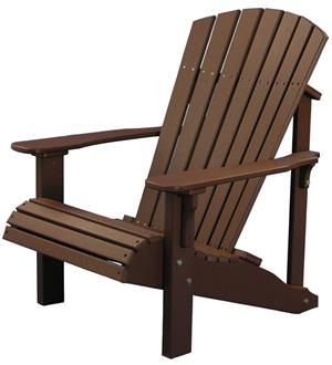 Amish Patio / Deck chair solid pine wood set