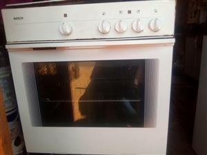 BOSCH 4 plate hob, oven and extractor fan for sale