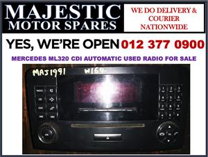 Mercedes benz Ml320 cdi automatic used radio for sale