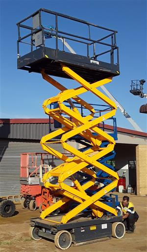 Cherry Pickers - Skyjack SJ1114626 10M electric scissor lift for hire/sale