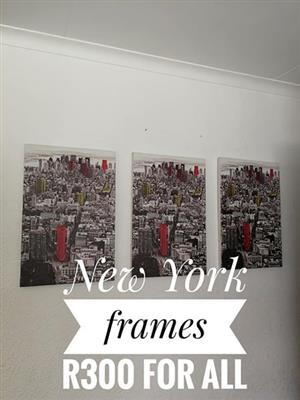 New York frames for sale