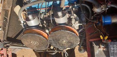 Datsun 1400 set of SU carberators foe sale