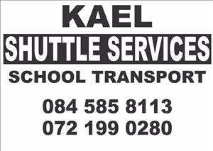 Kael Shuttle - School transport within Krugersdorp