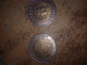 nelson mandela R5 coin for sale  Port Elizabeth