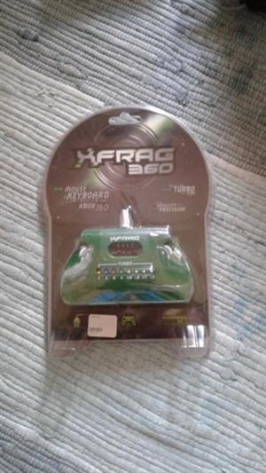 XFRAG 360 Mouse and Keyboard Adapter for xbox 360