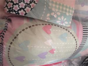 Pink heart bedding set for sale