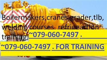 Cranes.BOILER MAKER.#0820651581.PIPE WELDING.Trade test.grader.ecxcavator.certficate.dangerous goods.