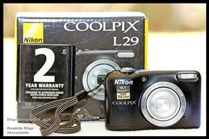 Nikon Coolpix L29 Compact Camera
