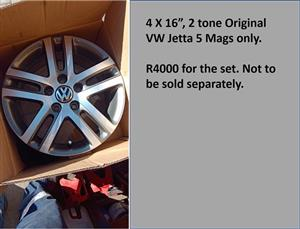 Jetta 5 mags for sale
