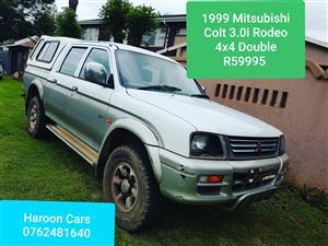 1999 Mitsubishi Colt 2800TDi ClubCab 4x4
