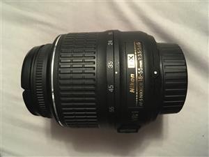 Nikon AF-P DX Nikkor Lens (18-55mm)(f/3.5-5.6G)