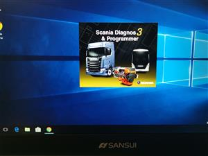 Scania VCI3 and SDP3 diagnostic tool