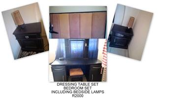 Dressing table set for sale
