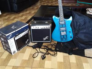 First act guitar and amp set for sale