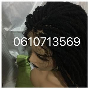 realistic looking natural dreadlocks wigs , braid wigs and more