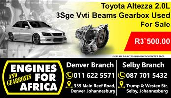 Toyota Beams 2.0L 3sge Dual Vvti Auto Gearbox For Sale