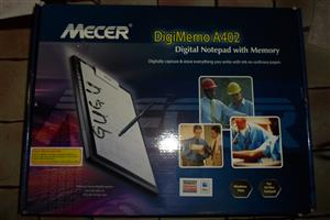 10 Mecer Digi Memo A402 Digital Notebook with Memory