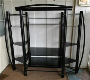 Bargain !! Brand New TV Stand with Glass Shelves