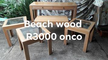 Beachwood glass top set for sale