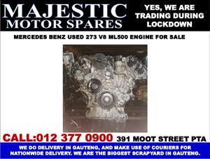 Mercedes benz ML500 used 273 v8 engine for sale