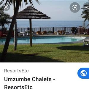 24 December to 1January Natal South coast 6 sleeper 3 bedroom 24December to 1 January