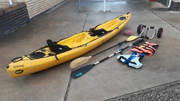 Double Fishing kayak