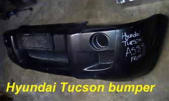 Hyundai Tucson front and rear bumpers for sale.
