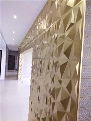 3d wall panel sale and installation