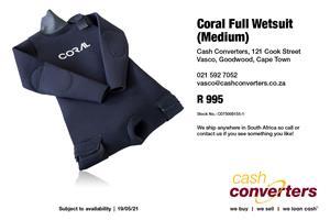 Coral Full Wetsuit (Medium)