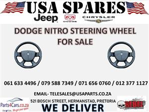 DODGE NITRO STEERING WHEEL FOR SALE