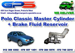 Used VW Polo Classic Master Cylinder + Brake Fluid Reservoir  for Sale