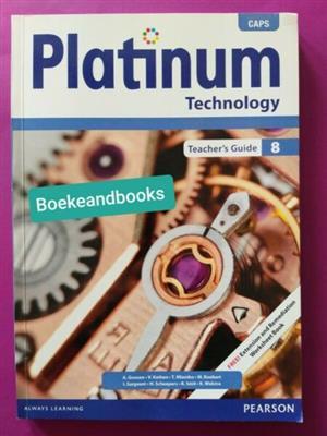 Technology  - Teacher's Guide - Grade 8 - Platinum - CAPS.