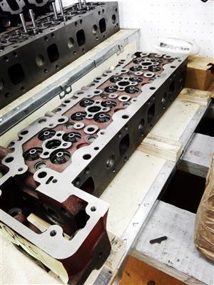 Hino J05c & J08c Cylinder Heads