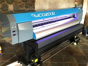 F-1863/AQUA/DX5 FastCOLOUR 1860mm EPSON® DX5 Printhead Large-Format Water Based Dye or