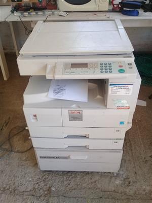 Bizhub C252 colour copier -still lots of toner