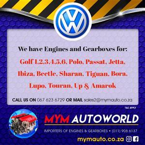 VW GOLF/POLO 1.4L 4 CYL, VW AHW Engine